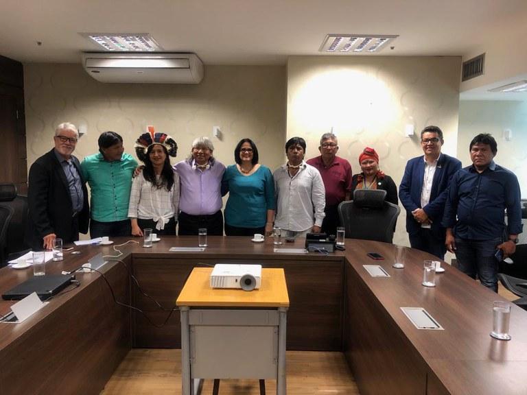 Lideranças indígenas