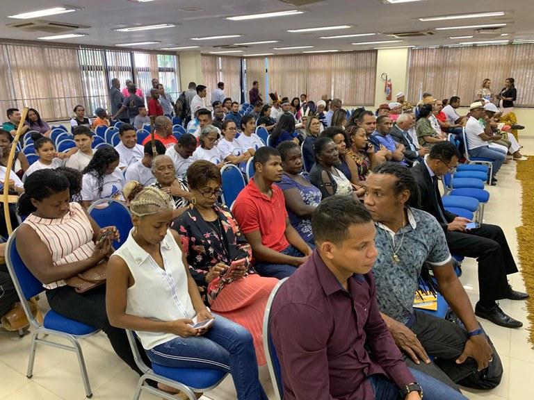 Secretária do MMFDH visita o Amapá para articular políticas de promoção da igualdade racial