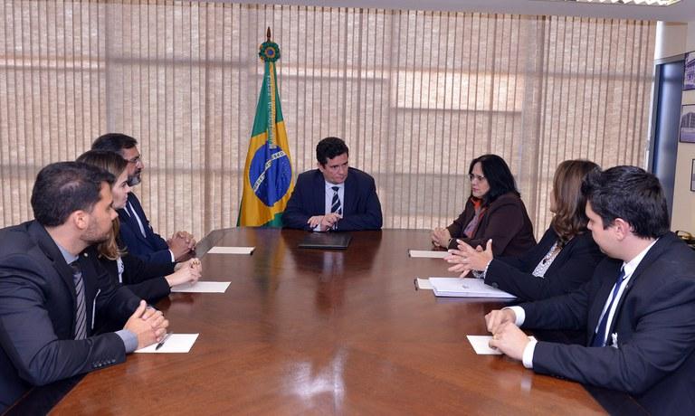 Reunião com a Ministra de Estado da Mulher, da Família e dos Direitos Humanos, Damares Alves/Foto:Isaac Amorim/MJSP