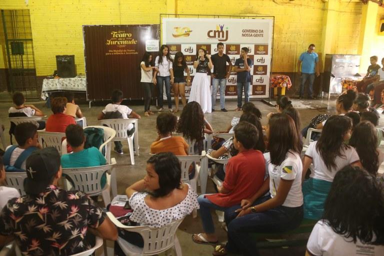 A convite da SNJ, municípios celebram o Dia Mundial do Teatro para a Infância e Juventude