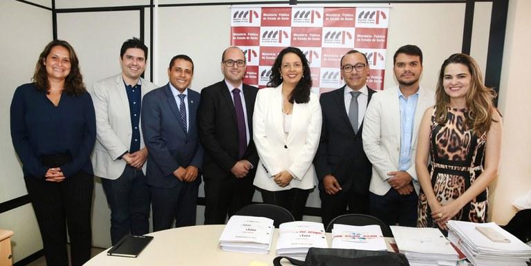 MMFDH discute proteção a vítimas de violência com representantes do Ministério Público de Goiás