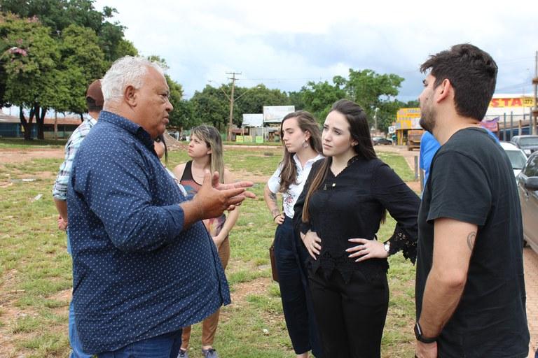 Secretária Nacional da Juventude visita a maior favela horizontal da América Latina, local onde será implementado o 1º Espaço 4.0 do país