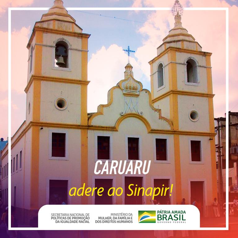 Caruaru/PE adere ao Sistema Nacional de Promoção da Igualdade Racial (Sinapir) Adicionar Imagem