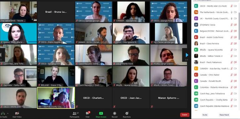 Seminário virtual debate impactos globais da pandemia na juventude