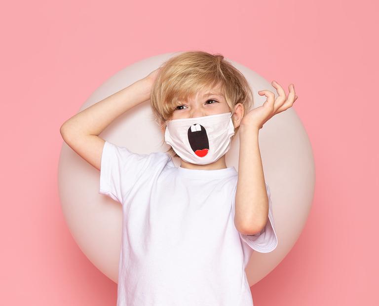 Edital premiará as melhores máscaras de proteção criadas por crianças