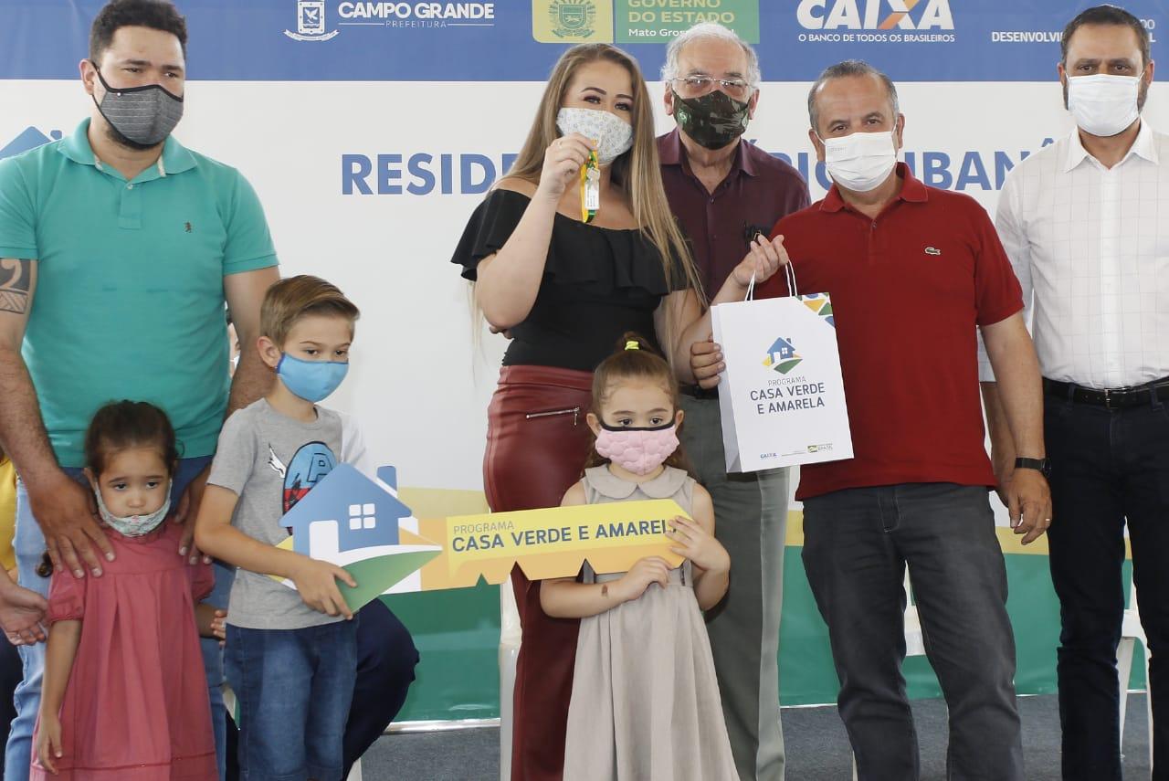 Empreendimento recebeu R$ 20,5 milhões em investimentos federais e vai beneficiar cerca de 1 mil pessoas da capital sul-mato-grossense