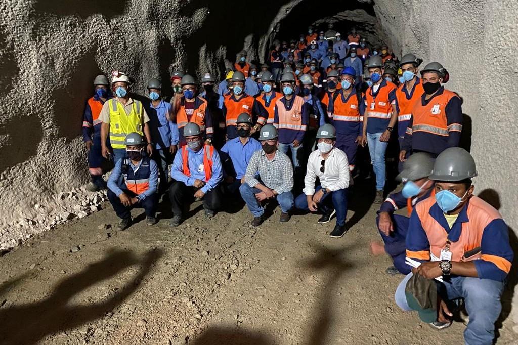 Estrutura tem 2,4 quilômetros de comprimento. Obra de perfuração recebeu R$ 19,6 milhões em investimentos federais