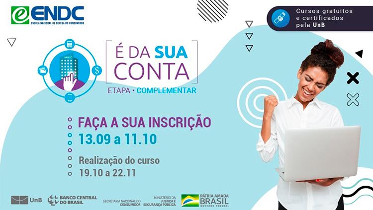 """Ministério da Justiça e Segurança Pública lança segunda etapa do curso """"É da sua conta"""".png"""