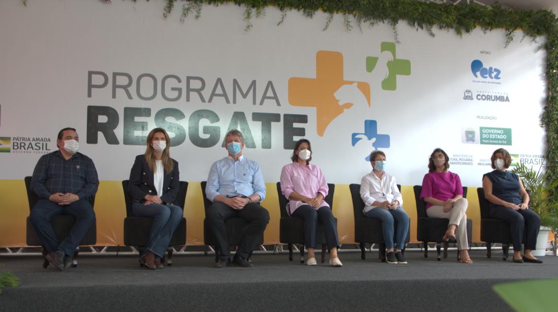 A primeira unidade do programa Resgate+ foi entregue em Corumbá (MS)