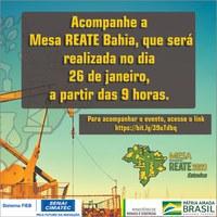 Ministro de Minas e Energia participa da Mesa Reate Bahia