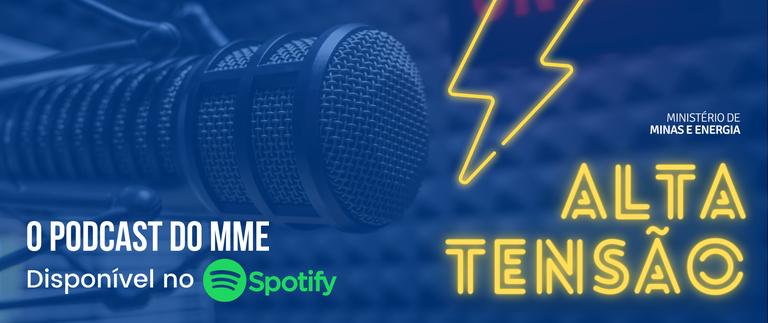 Ouça o novo episódio do podcast do Ministério de Minas e Energia