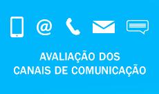 Avaliação dos canais de comunicação