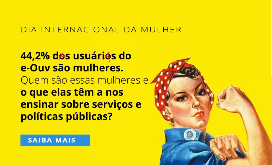 Banner do Dia das Mulheres