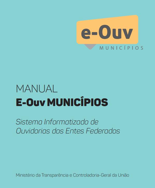 Manual e-Ouv Municípios