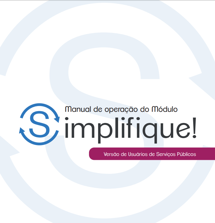SIMPLIFIQUE - usuários de serviços públicos