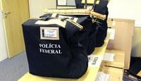 PF identifica fraudes em compras de aventais descartáveis realizadas pela Autarquia Hospitalar Municipal da Prefeitura de São Paulo.