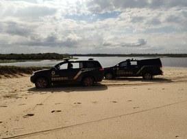 Ação visa coibir crimes ambientais e tráfico de drogas no interior da reserva ambiental federal