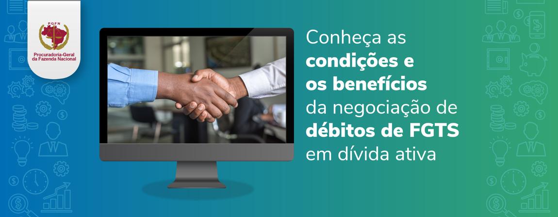 Os benefícios são desconto e prazo ampliado para pagamento em até 145 prestações, a depender do perfil do empregador e da dívida