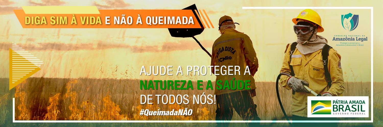 A iniciativa tem como objetivo manter a vigilância contínua contra as queimadas e chamar a população para participar das ações de preservação na região da Amazônia.