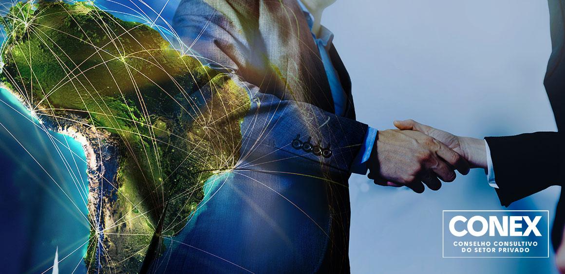 Camex faz reunião extraordinária do Conex e aprofunda o diálogo voltado para agenda de comércio exterior