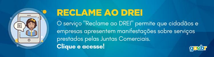 RECLAME AO DREI