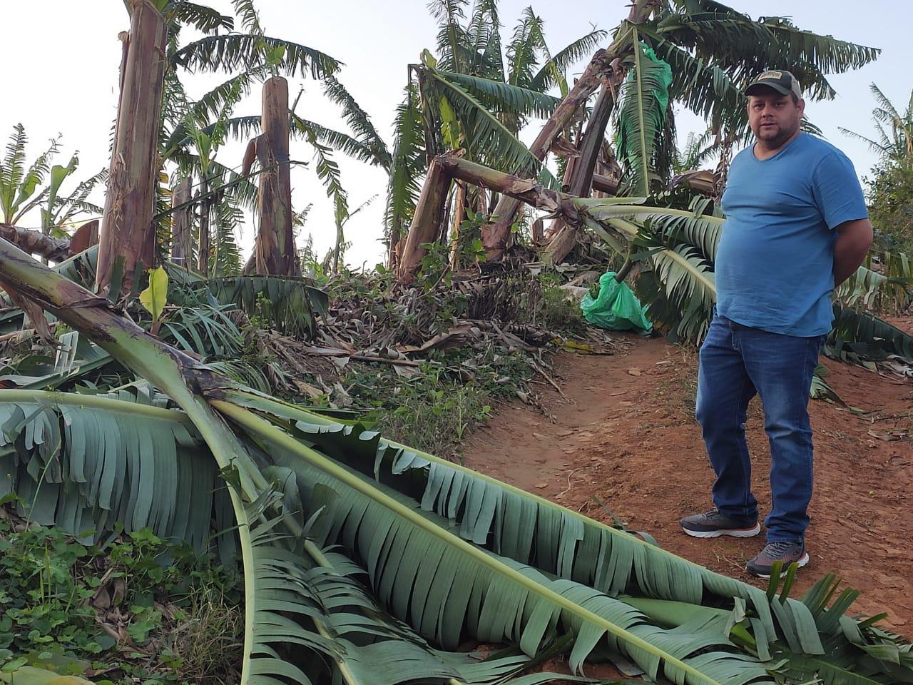 Produtores afetados por ciclone terão acesso a recursos do Pronaf com os juros mais baixos