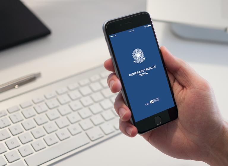 Serviços digitais para trabalhadores são os mais acessados no Gov.Br