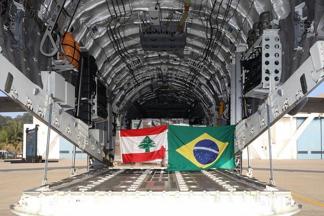 Missão especial humanitária brasileira ao Líbano