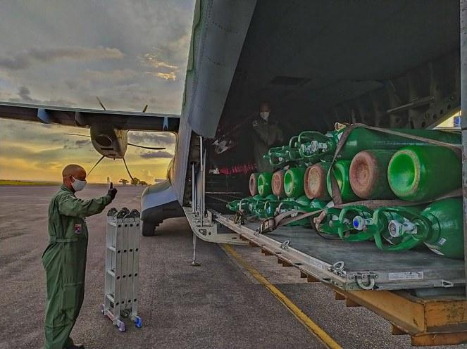 Apoio logístico em meio à crise