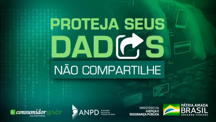 Campanha alerta consumidor sobre proteção de dados