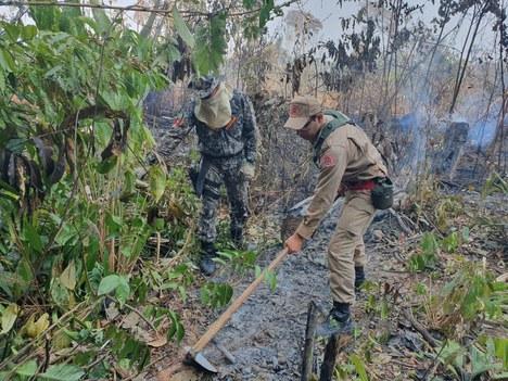 Autorizado emprego de bombeiros da Força Nacional no Acre