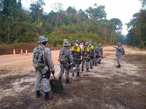 Força Nacional de Segurança Pública participa da Operação