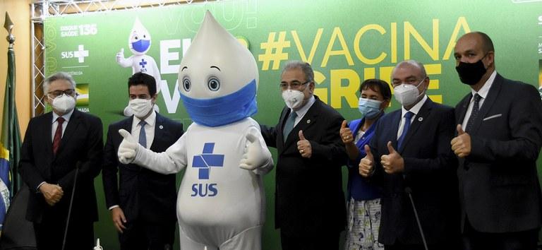 Campanha Nacional de Vacinação contra a Gripe começa nesta segunda-feira (12)