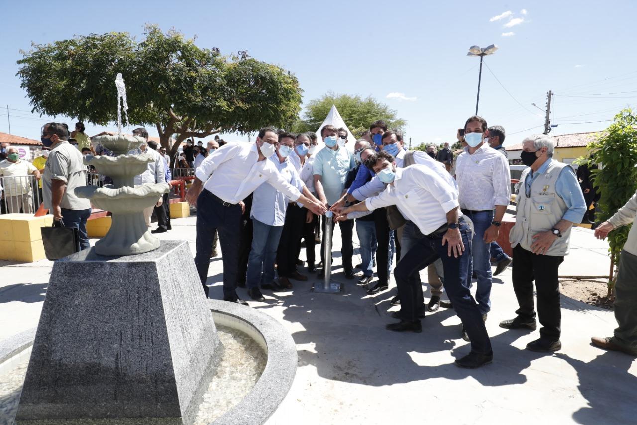 Governo Federal inaugura Sistema de Abastecimento de Água em Campo Alegre de Lourdes