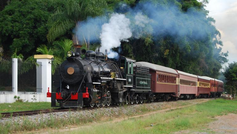 O Trem das Águas, em Minas Gerais, leva o turista a uma verdadeira viagem no tempo. Crédito: Associação Brasileira de Preservação Ferroviária (ABPF)