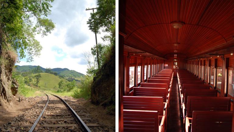 O Trem da Serra da Mantiqueira (MG) é perfeito para quem quer vivenciar um passeio em uma autêntica Maria Fumaça. Crédito: ABPF
