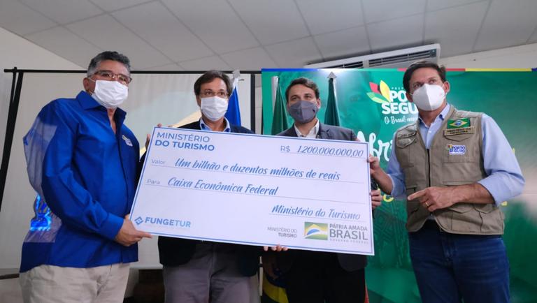 Bahia recebe mais recursos do Fungetur