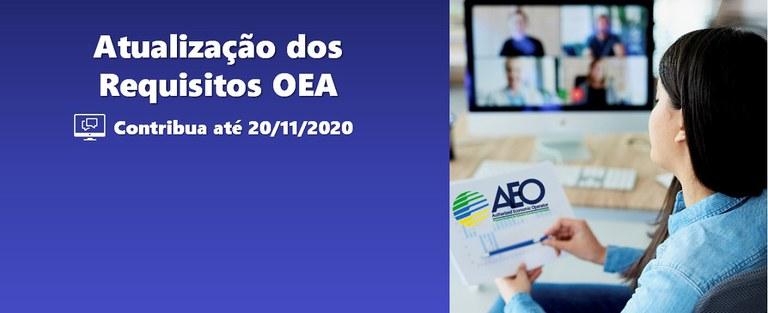 Atualização dos Requisitos OEA