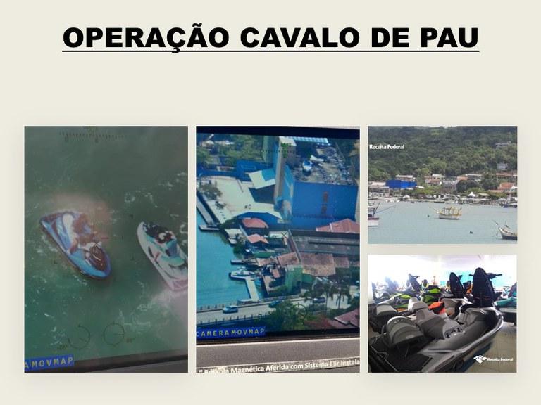 Receita Federal na 9ª RF realiza operação em marinas no litoral catarinense