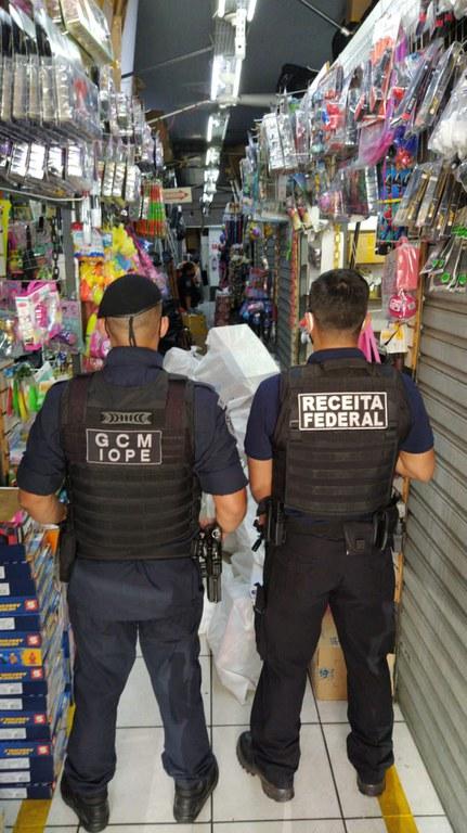 Receita Federal inicia hoje a operação Brinquedo Assassino na região central de São Paulo