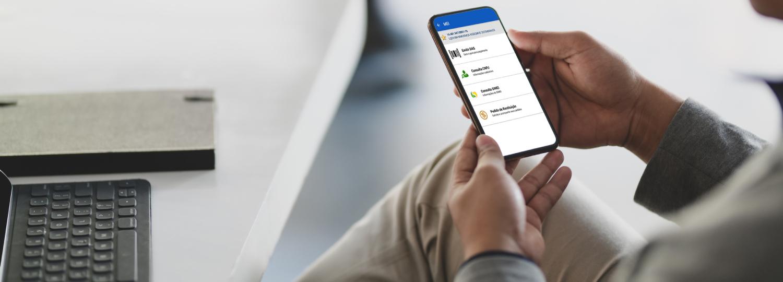 APP MEI está disponível nas lojas apple e Android