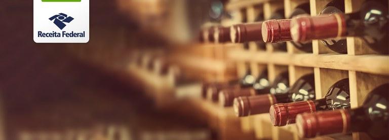 Receita Federal apreende meia tonelada de vinho argentino introduzido ilegalmente em território nacional