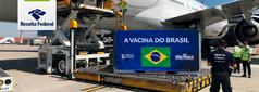 O Órgão também liberou mais de 54 mil litros de ingrediente farmacêutico ativo (IFA) que chegaram ao País pelos aeroportos paulistas.