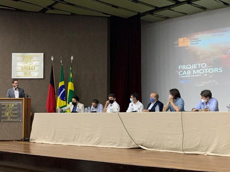 Evaldo Cruz Neto participou de evento sobre o projeto