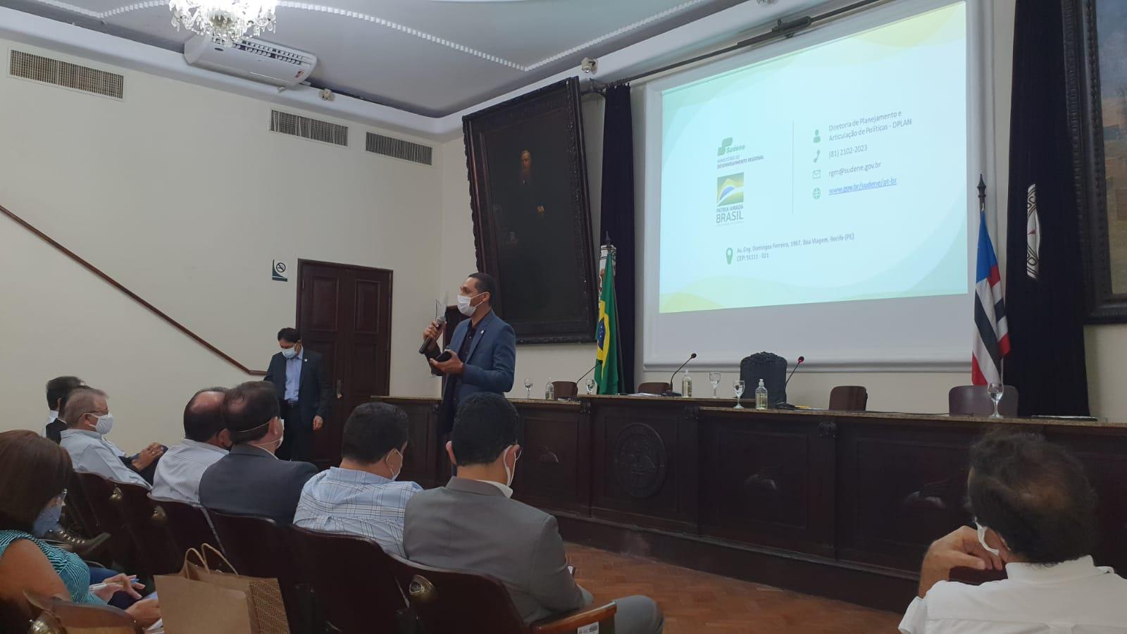 Sudene apresenta instrumentos de ação para empresários do Maranhão