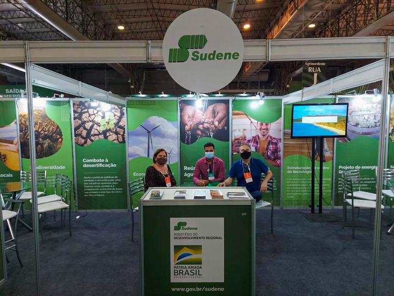 Sudene participa da Agrinordeste 2021.