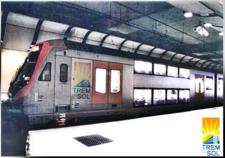Imagem de um metrô.