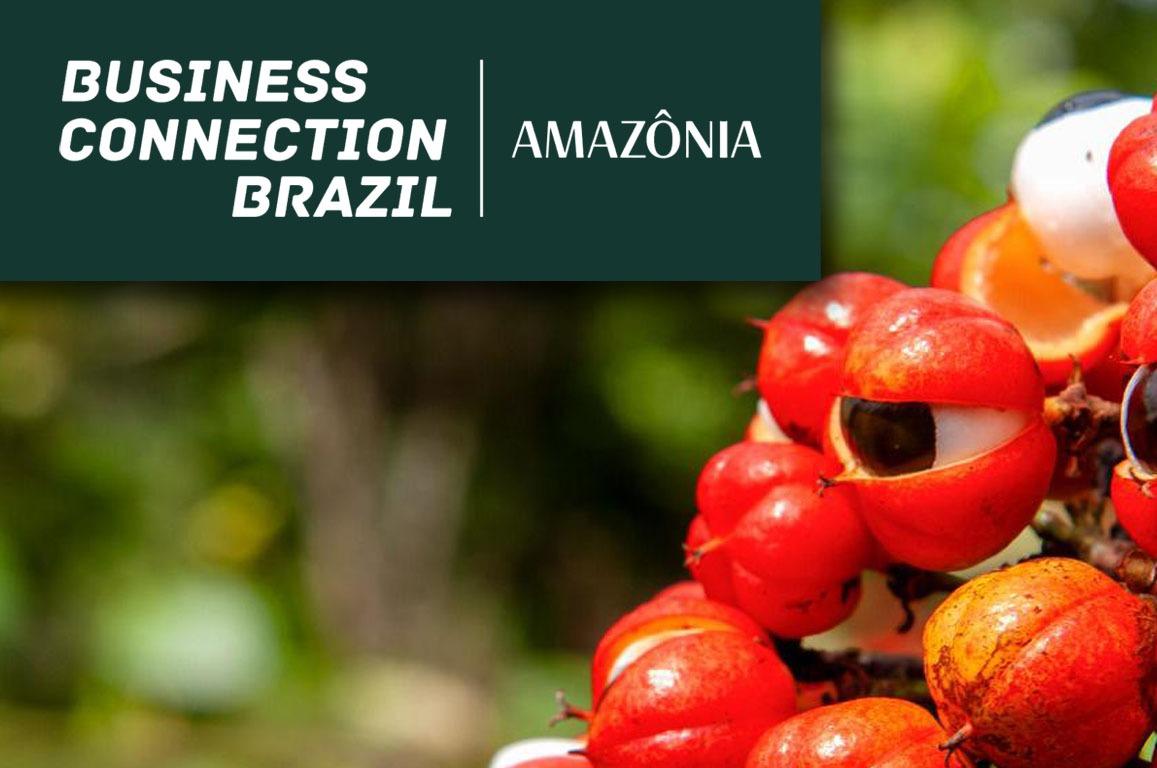 """O """"Business Connection Brazil (BCB): Amazônia"""" é um evento que ocorre entre os dias 12 e 15 de julho voltado, principalmente, para os segmentos de alimentos & bebidas, cosméticos e insumos biológicos."""
