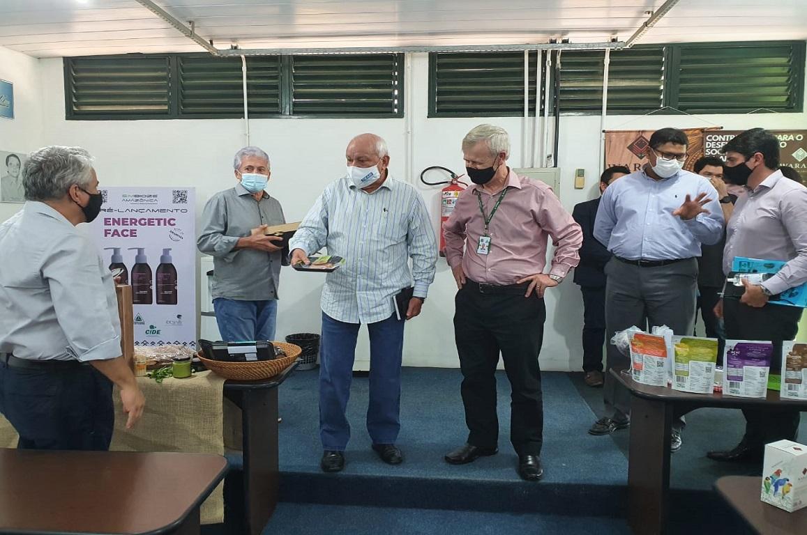 No Centro de Incubação e Desenvolvimento Empresarial, produtos feitos com insumos tipicamente amazônicos tem apoio para ingressar e se estabelecer no mercado.