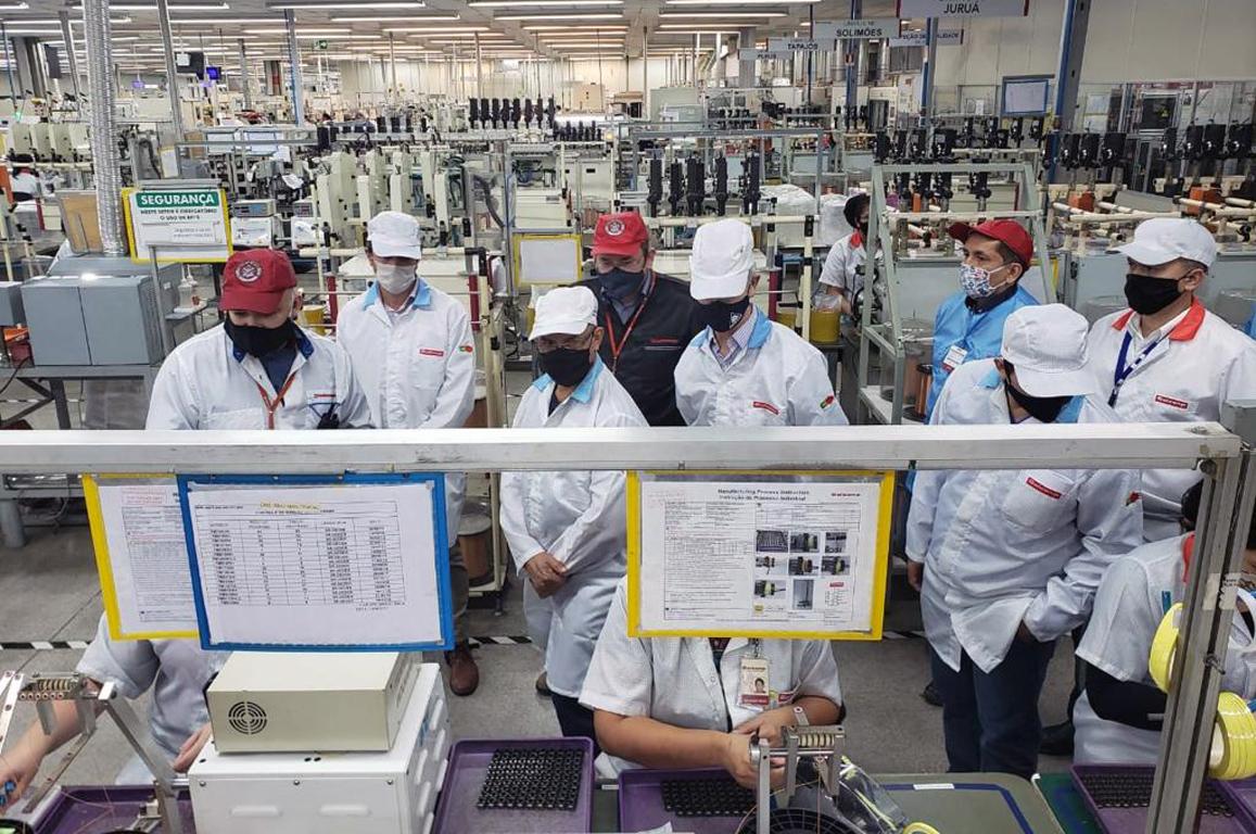 Equipe da Superintendência começou a visitar as fábricas do Polo Industrial de Manaus para levantar as demandas do setor